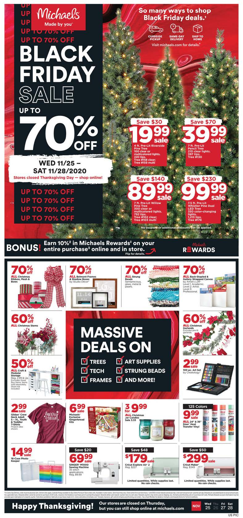 Michaels Black Friday 2020 Page 1