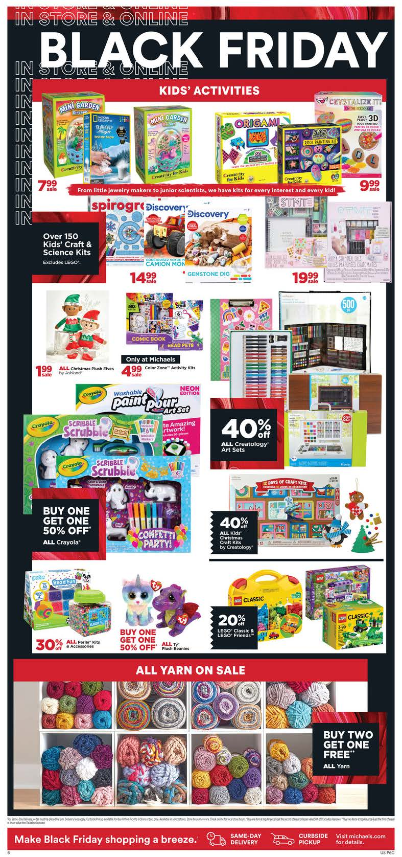 Michaels Black Friday 2020 Page 4