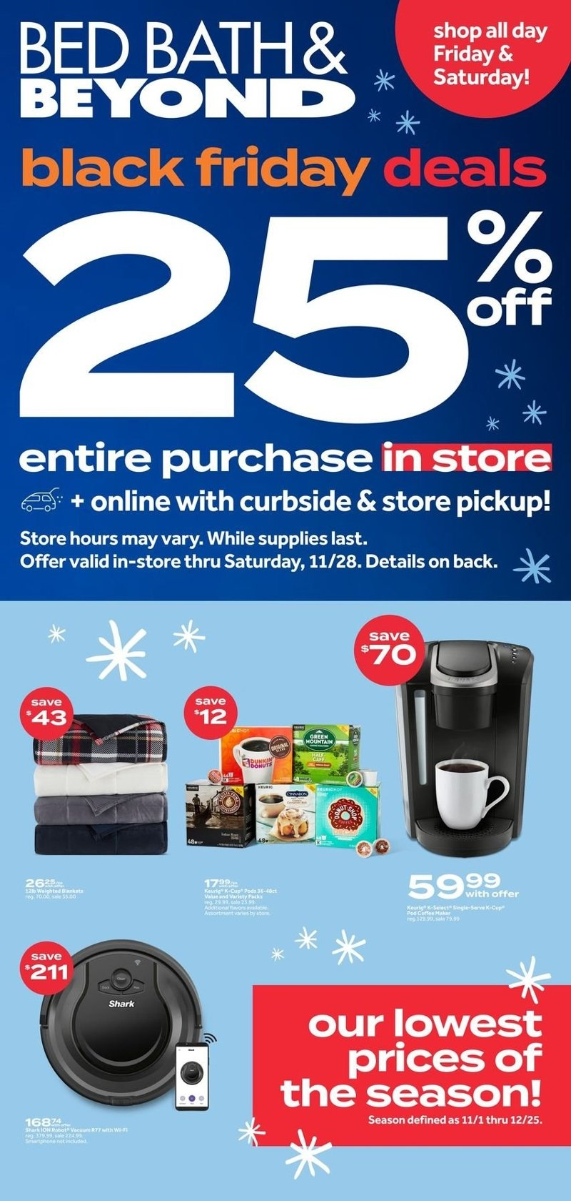 Bed Bath & Beyond Black Friday 2020 Page 1