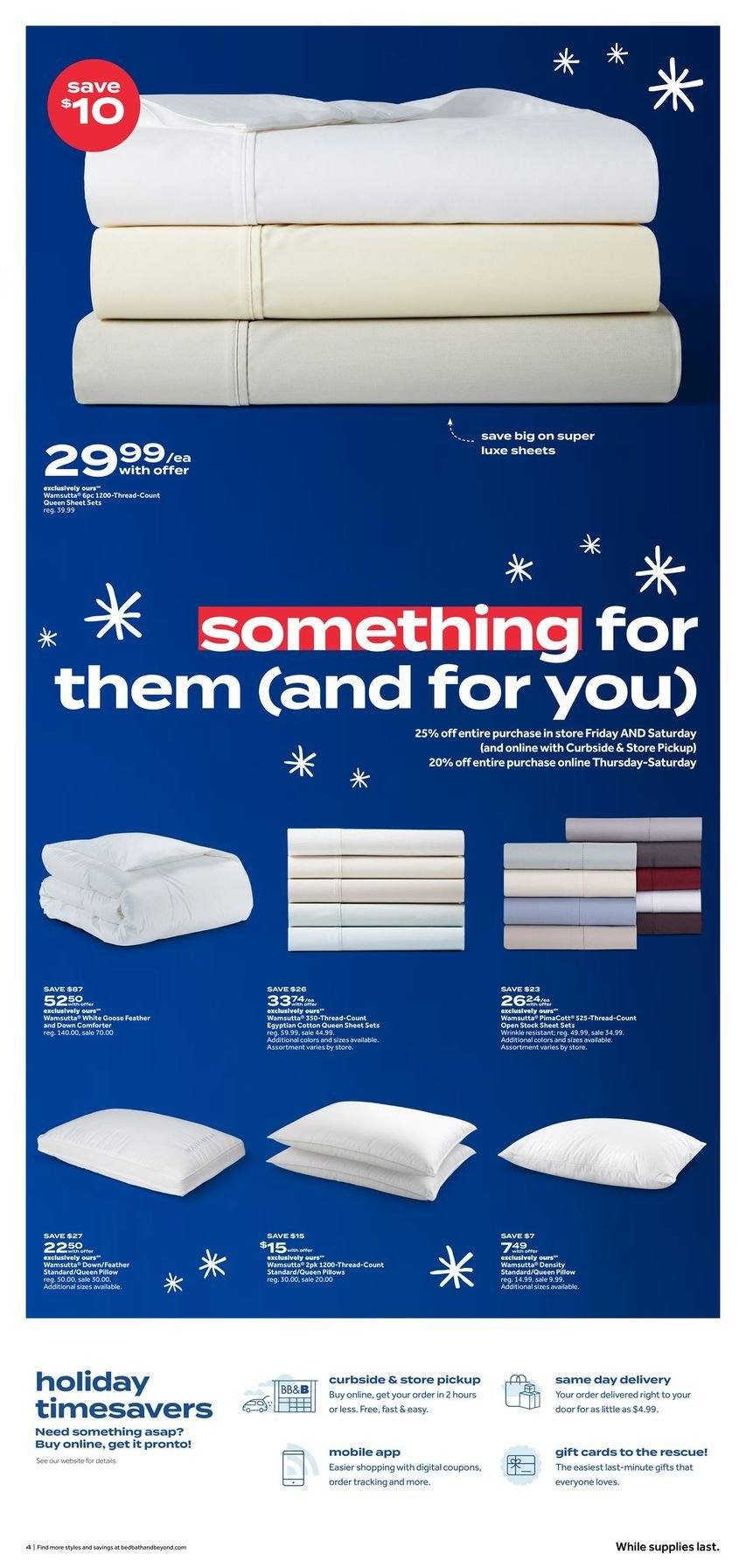 Bed Bath & Beyond Black Friday 2020 Page 4