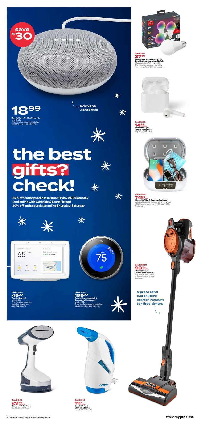 Bed Bath & Beyond Black Friday 2020 Page 6