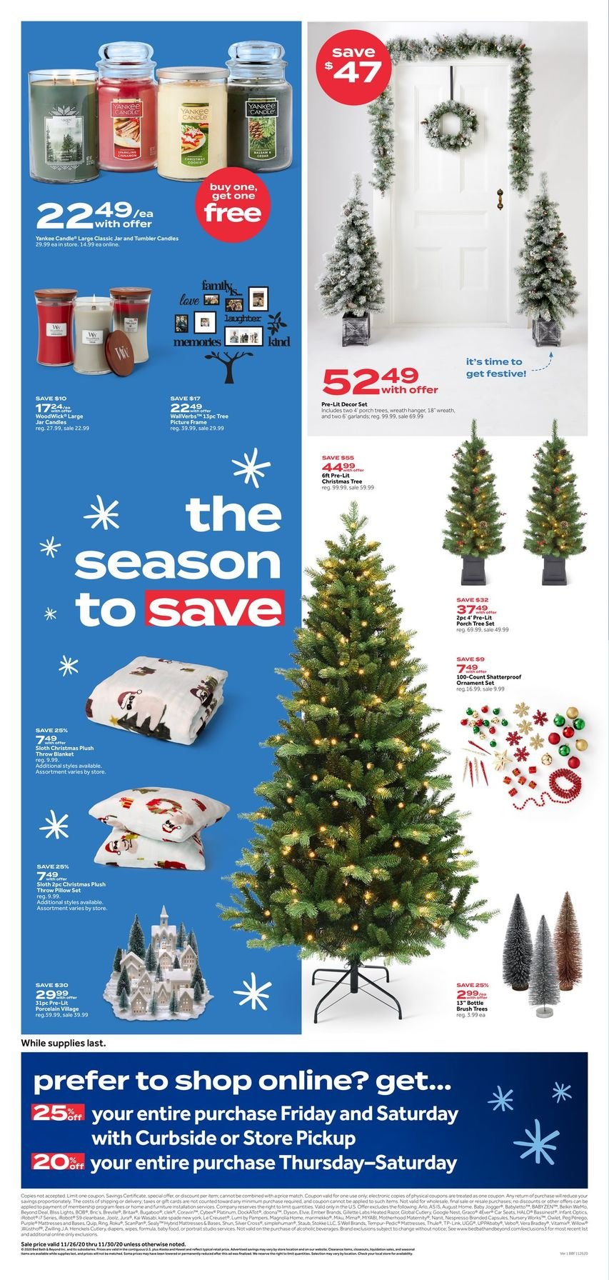 Bed Bath & Beyond Black Friday 2020 Page 8