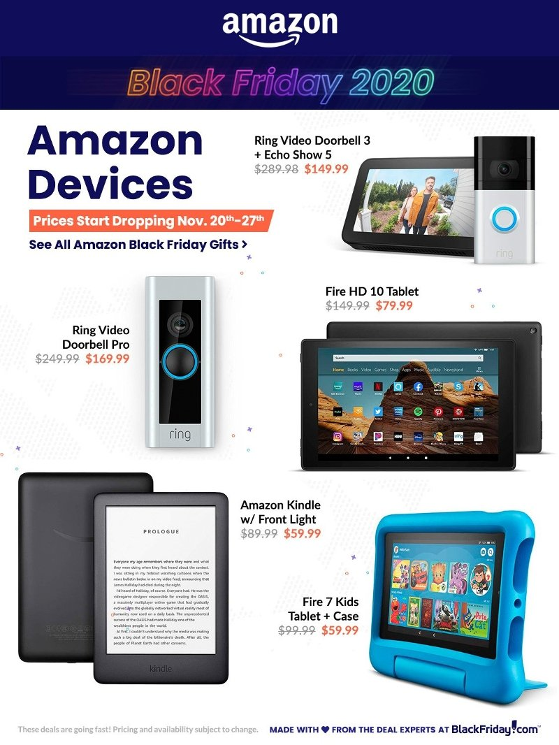 Amazon Black Friday 2020 Page 1